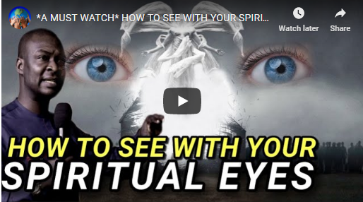 How To See With Your Spiritual Eyes -Apostle Joshua Selman- Gospeltrender