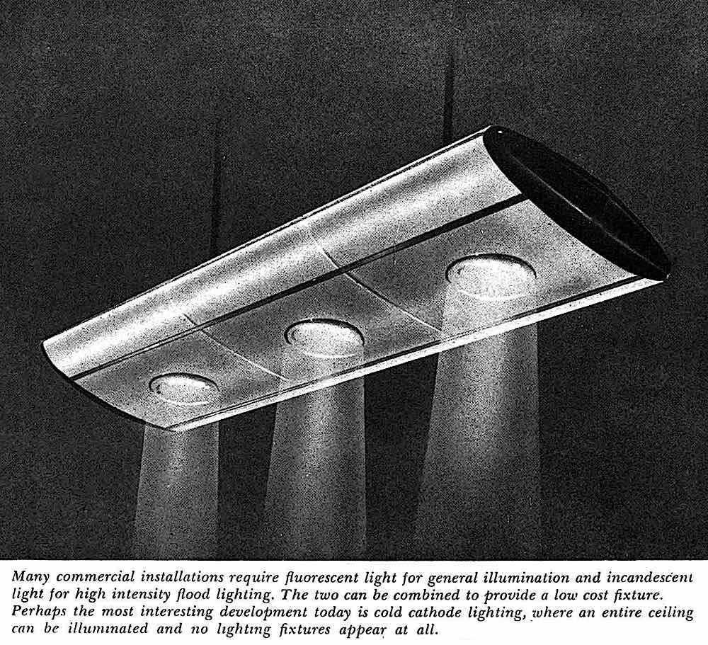 1947 retro-future lighting, an illustration