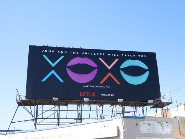 XOXO Netflix film billboard
