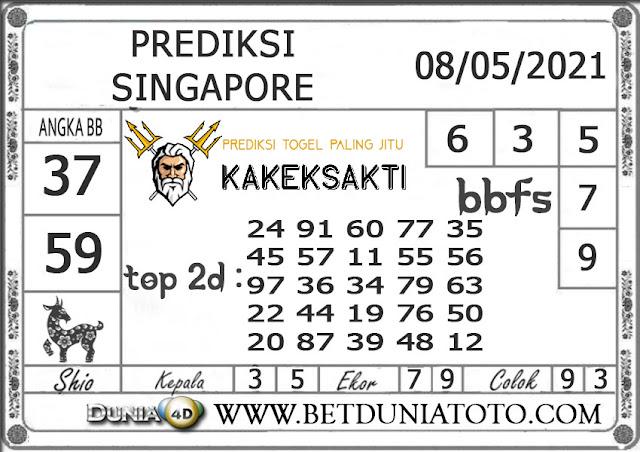 Prediksi Togel SINGAPORE DUNIA4D 08 MEI 2021