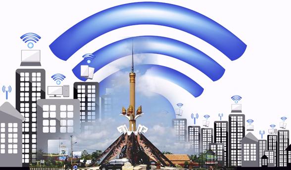Pemda Lampura Kembali Anggarkan Enam Titik Wifi Gratis