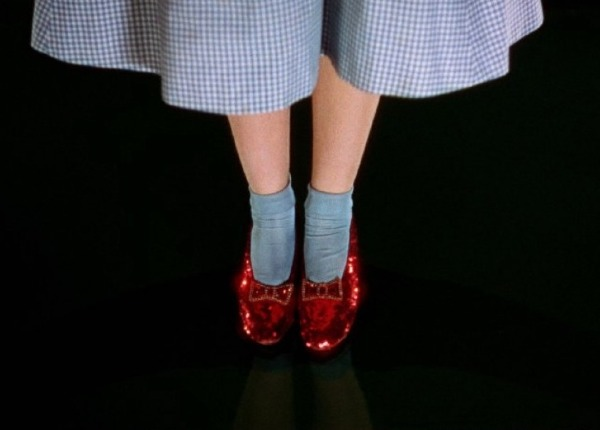 Judy Garland S Ruby Slippers En Vogue Again Thehistorialist