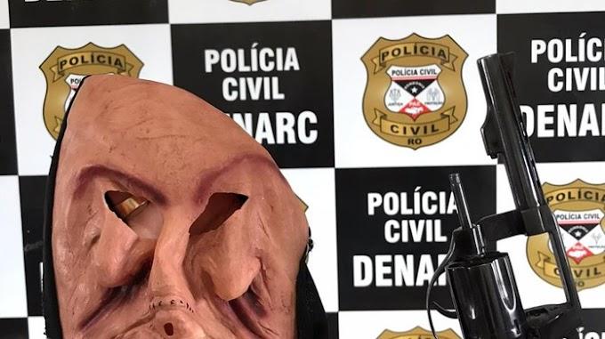 Polícia apreende adolescentes que usavam máscara de 'terror' em assaltos, em Porto Velho
