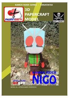 Kamen Rider Nigo PAPERTOYS