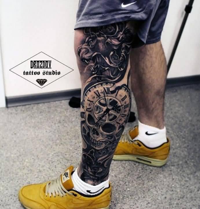 Mytattoolandcom Leg Tattoos For Men