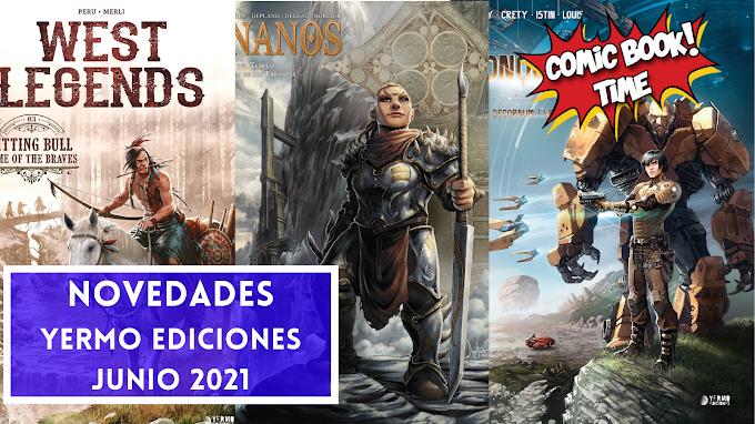 Novedades Yermo Ediciones para junio 2021