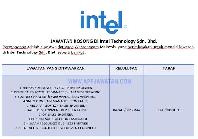 Intel Technology Sdn. Bhd.