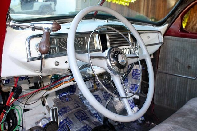 1953 ford main line wiring diagram rodcitygarage 1948 plymouth coupe led sled