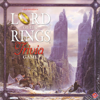 Lord of the Rings Trivia Game Fantasy Flight Game