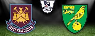 Вест Хэм Юнайтед – Норвич Сити смотреть онлайн бесплатно 31 августа 2019 прямая трансляция в 17:00 МСК.