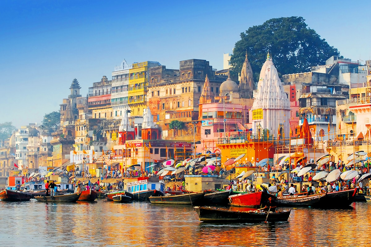 Город Варанаси, Индия
