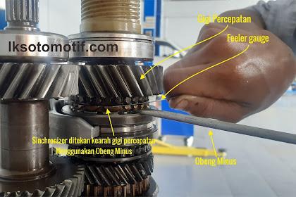 4 Jenis Pengukuran Pada Transmisi Manual