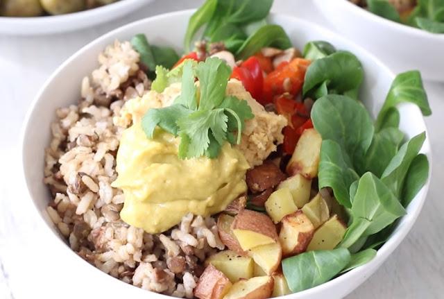 Vegan preparation created simple