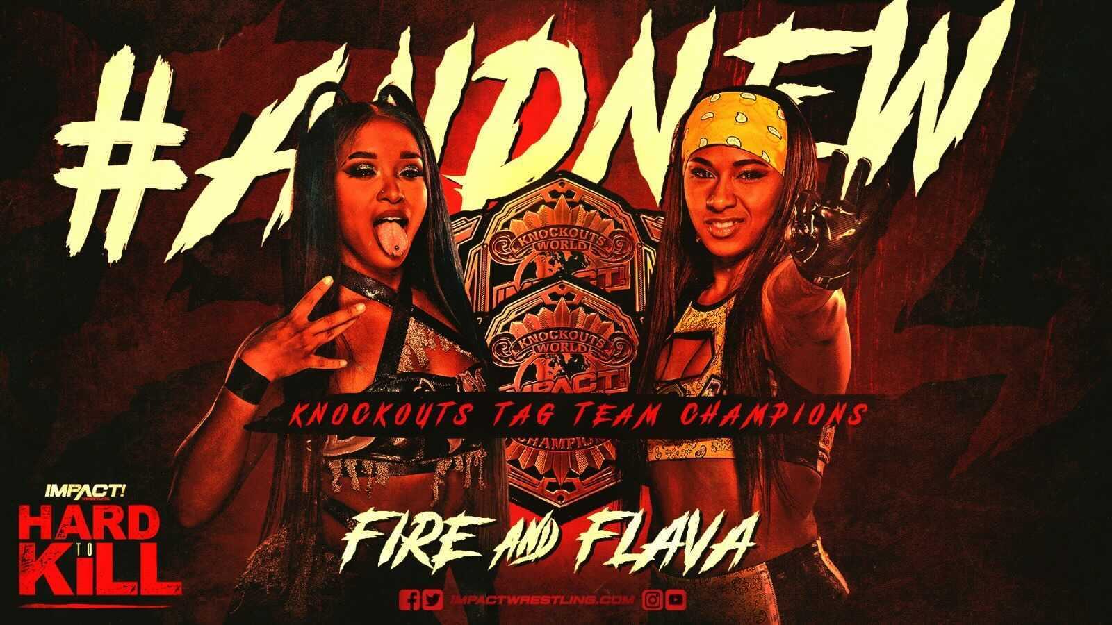 Tasha Steelz e Kiera Hogan conquistam o IMPACT Knockouts Tag Team Championship