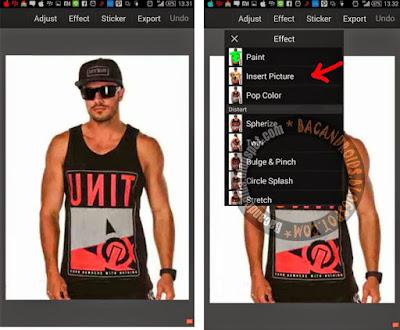 Cara Membuat Efek Tato dengan App PicSay