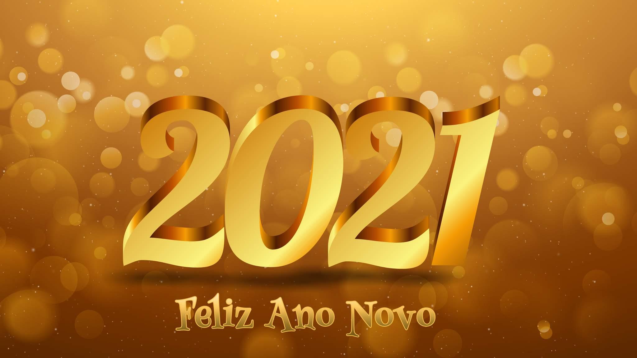 Que 2021 seja diferente e melhor para todos nós!