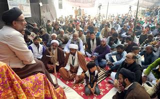 लेफ्टिनेंट हसन बांदी के 40वें मजलिस का हुआ आयोजन | #NayaSaberaNetwork
