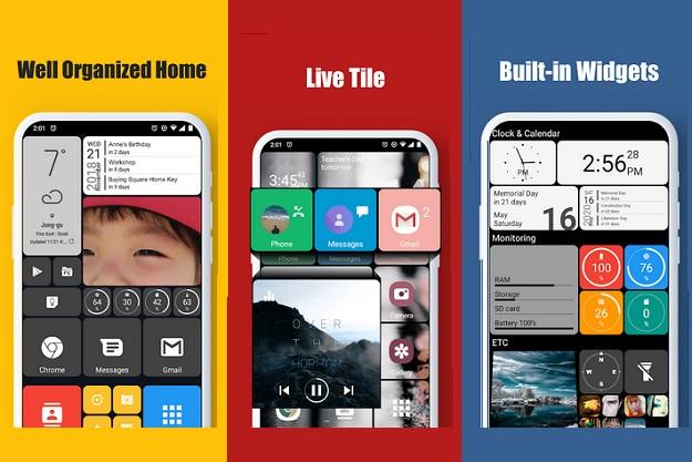 Square Home Launcher - Φέρνουμε τα Windows 10 στο smartphone μας