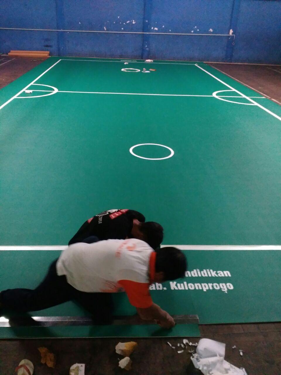 Harmony Carpet Karpet Lapangan Sepak Takraw DIknas
