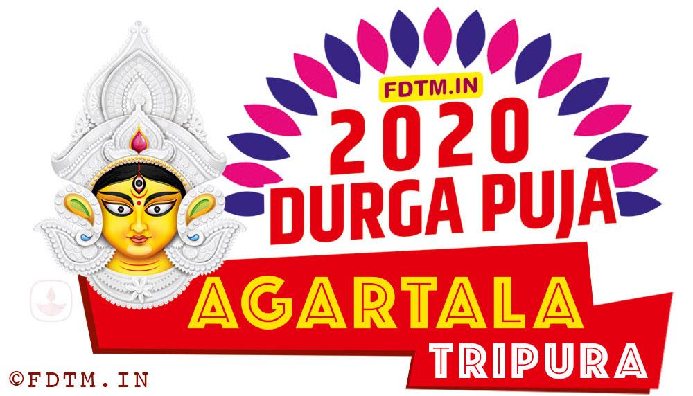2020 Tripura Durga Puja Date and Time