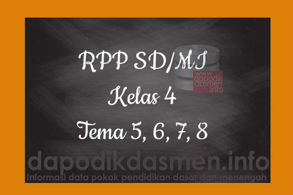 RPP Tematik SD/MI Kelas 4 Tema 8 Subtema 1 2 3 4 Semester 2, Download RPP Kelas 4 Tema 8 Subtema 1 2 3 4 Kurikulum 2013 SD/MI Revisi Terbaru, RPP Silabus Tematik Kelas 4