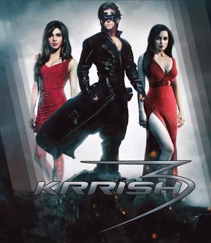 Krrish 3 (2013) Movie Poster