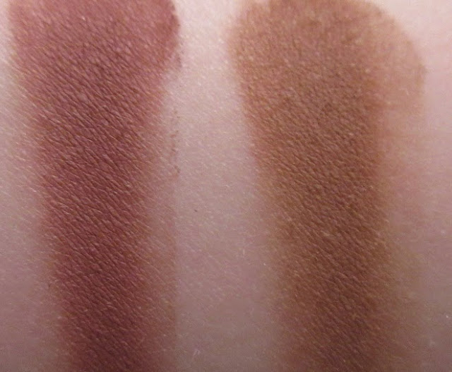 NYX Eyebrow Cake Powder Red/Auburn Swatch