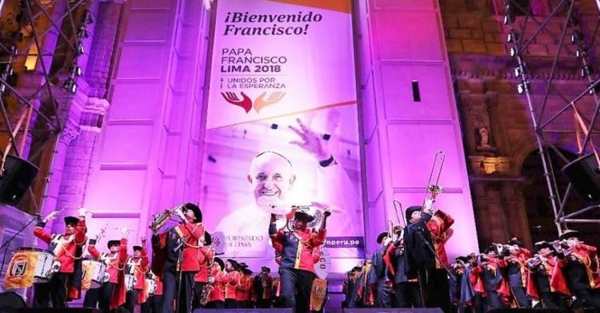 PAPA FRANCISCO EN PERÚ: Alumnos de colegio de San Miguel pondrán la música en Las Palmas para visita del Santo Padre - www.papafranciscoenperu.pe