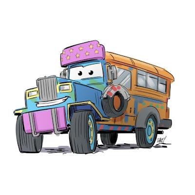 gambar mobil kartun anak kecil