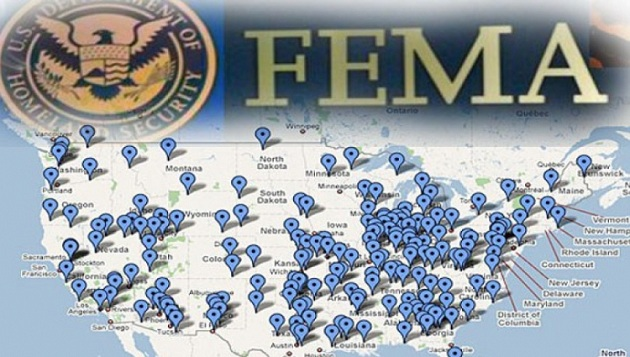 Τα στρατόπεδα της FEMA περιμένουν κόσμο
