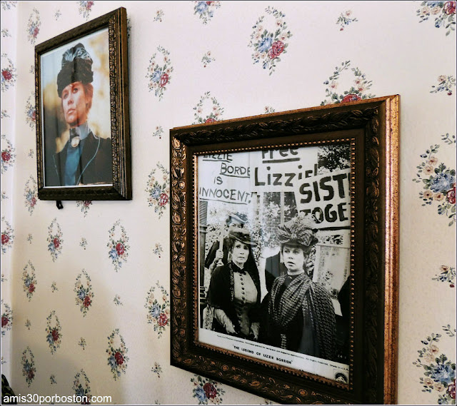Fotos de Elizabeth Montgomery en la Casa de Lizzie Borden, Fall River