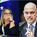 """""""Parece que está em surto psicótico"""", diz psicóloga presidente do PTB-PR sobre Moraes"""
