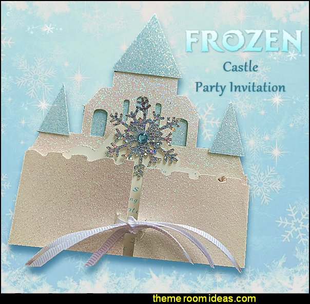Frozen invitation, frozen, castle invitation, Elsa invitation, frozen castle invitation, Princess invitation