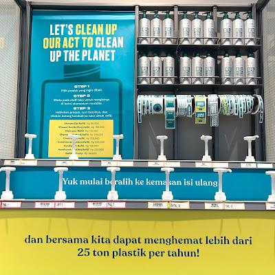 REFILL STATION THE BODY SHOP PERTAMA DI INDONESIA
