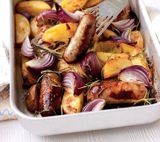 Sausage Traybake Recipe