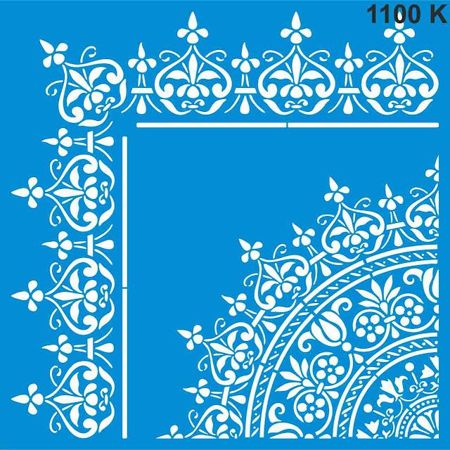 Трафареты узоры для декора стен Симферополь