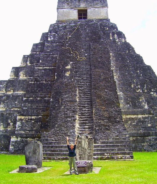 THE GRANDEUR OF THE MAYAN RUINS OF TIKAL, GUATEMALA