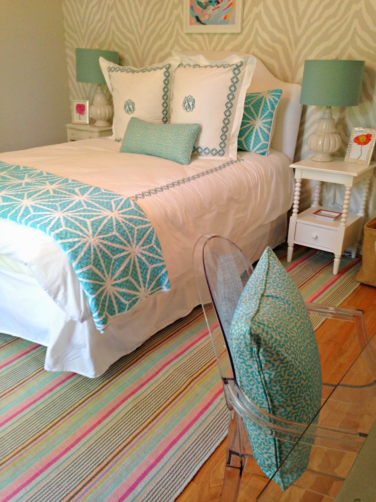 Stephanie Kraus Designs Teen Girl S Room A Before And