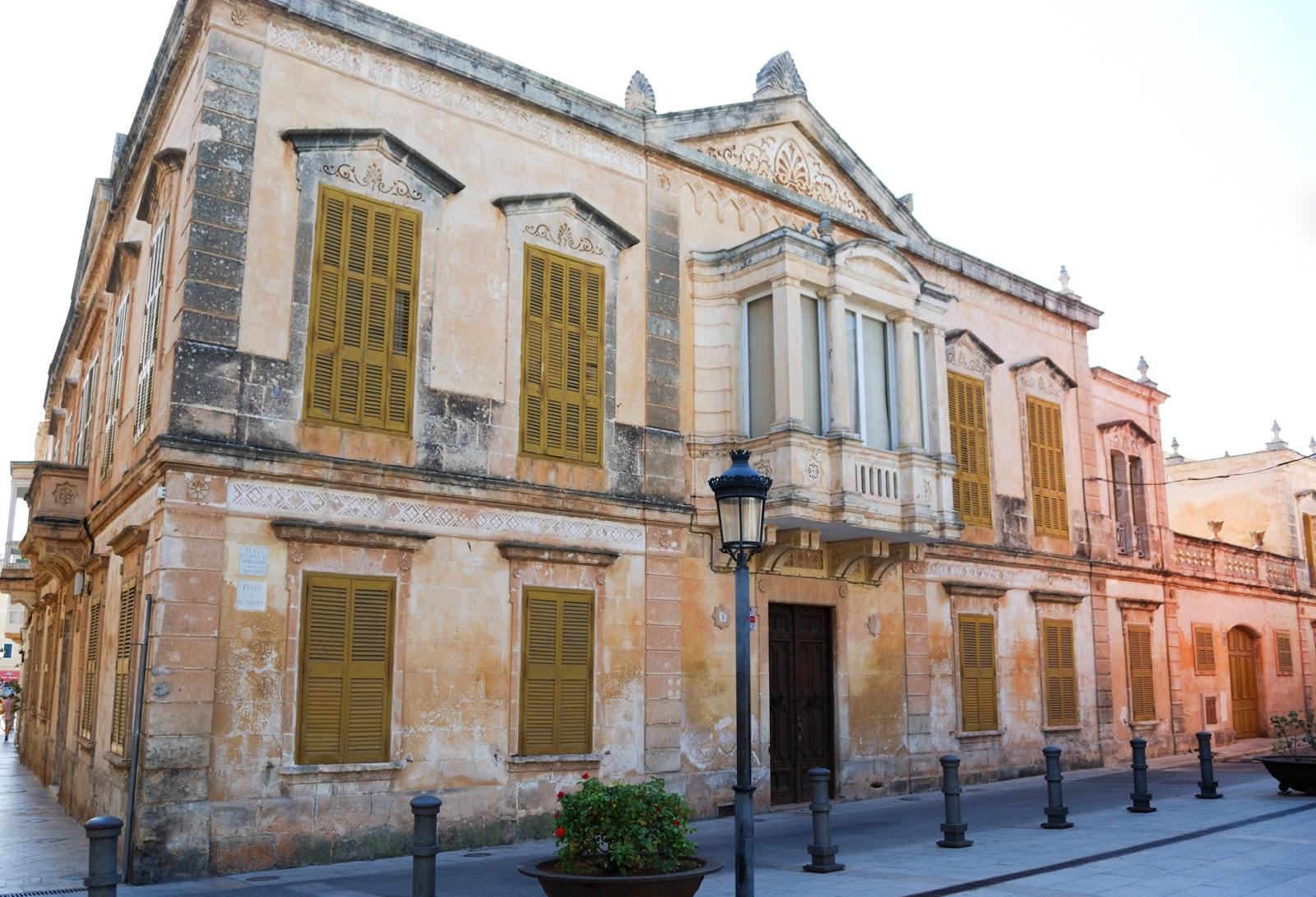 Ciutadella Instagrammable Places Menorca Spain