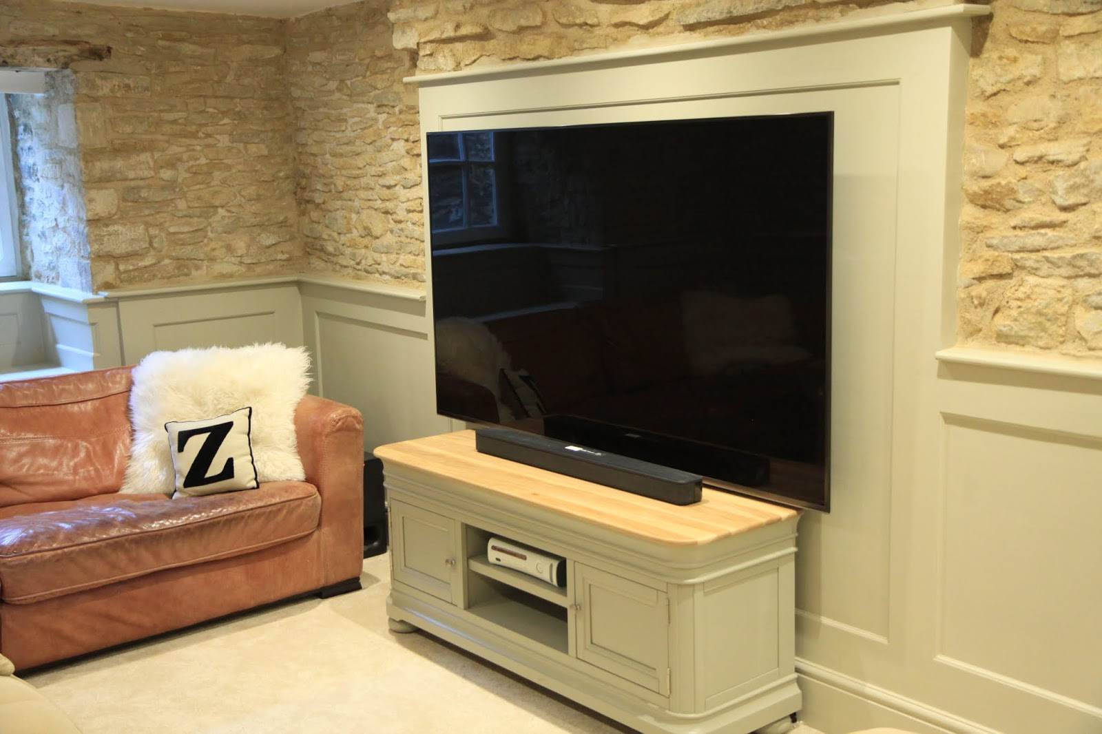 How To Incorporate A Large Television