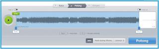 entah itu diperlukan untuk memotong lagu yang terdapat ruang kosong diakhir musik Tutorial Gampang Memotong MP3 Secara Online