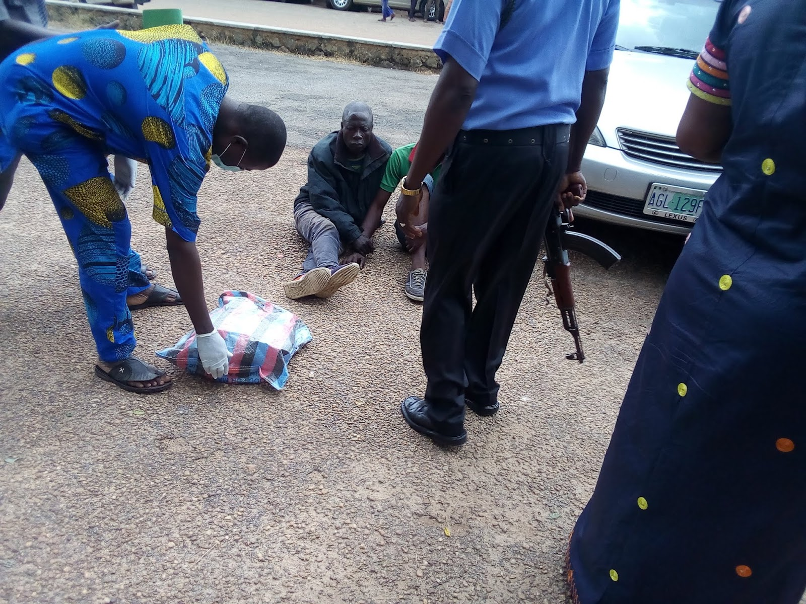 Police Arrests Two Men In Possession Of Human Skulls