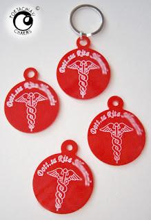 portachiavi inciso regalo laurea medicina