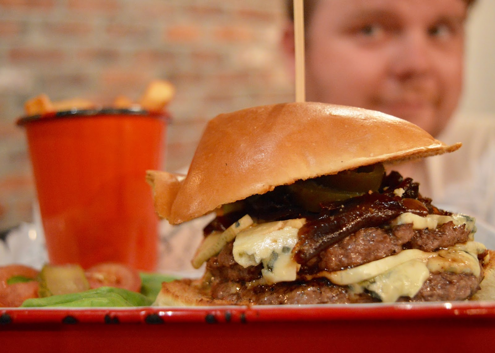 The Fat Hippo Underground with Kids | Simply the Best Burgers in Newcastle - Stinky Pete Burger
