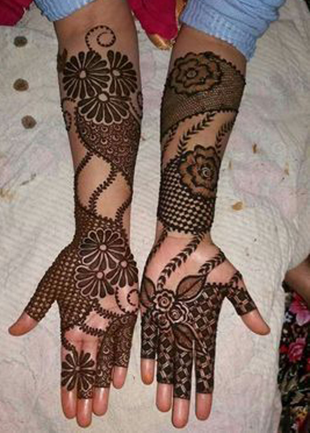 Fancy Mehndi Design: Bridal Mehndi Design Full Hands