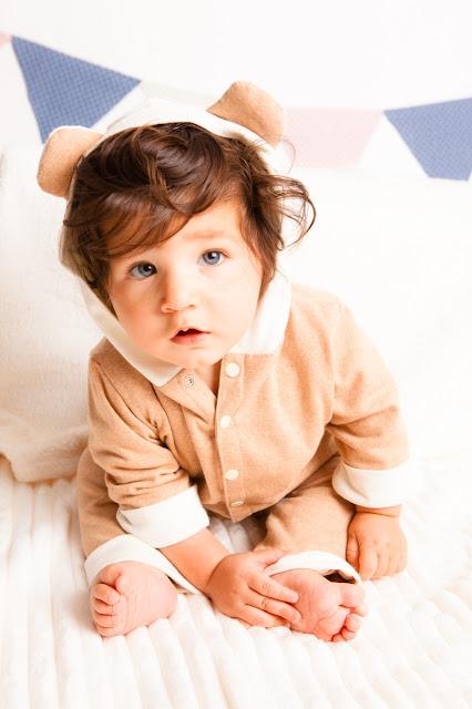 Roupas infantis da linha Organic Baby desenvolvida especialmente para crianças alergicas