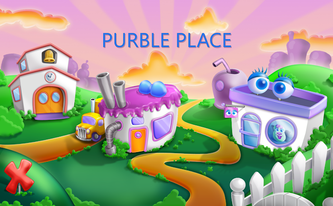tela inicial do Purble Place