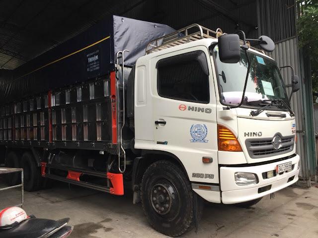 Đóng thùng, sửa chữa thùng xe tải uy tín chất lượng cao