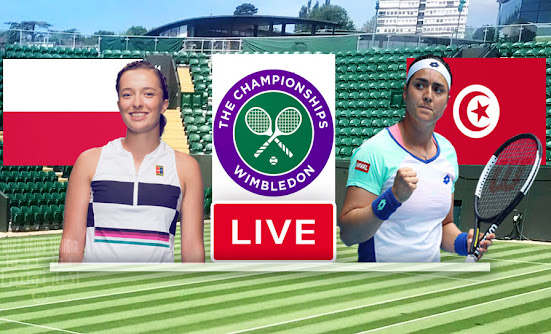 Match Tennis Ons Jabeur vs Iga Swiatek Live Stream In Wimbledon