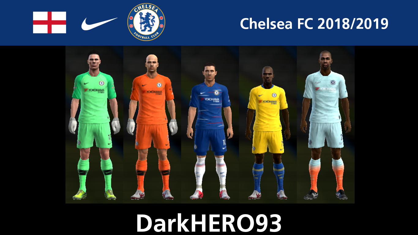 Pes-modification: PES 2013 Chelsea FC 2018/2019 GDB By